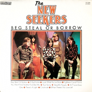New Seekers (The) ‎- Beg Steal Or Borrow (LP) (VG/VG)